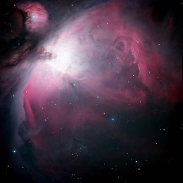 messier 42; the great nebula in orion